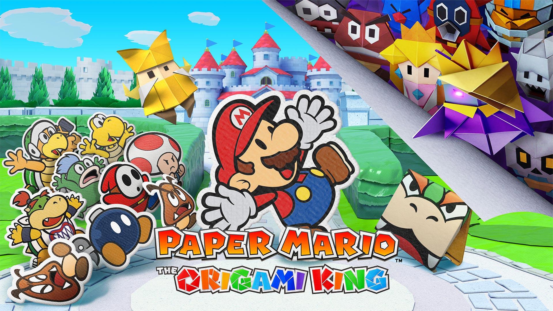 کاغذ ماریو: پادشاه اریگامی