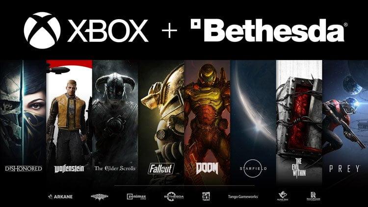 اقدام عجیب مایکروسافت برای خرید شرکت بتسدا و تمام بازی های آن در ایکس باکس!