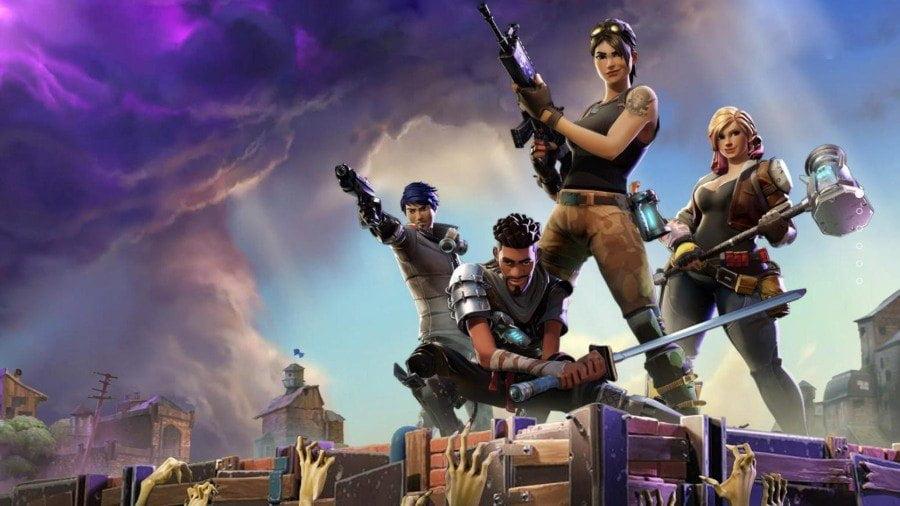 نجات جهان در بازی رایگان Fortnite